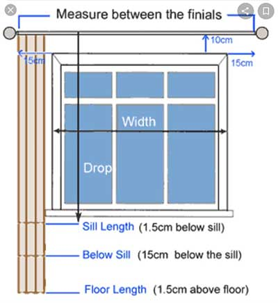 How To Measure For Curtain Either To Buy Or Sew In 5 Easy Steps