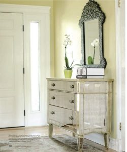 Declutter your foyer, mudroom, or porch (add your laundry room, too). Why rely on mitten trees or boxes to corral the mishmash of seasonal gear when you can throw everything into the spacious drawers of a dresser?