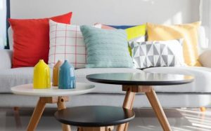 Pillows and throws are like jewellery to our home decor. They can be relatively inexpensive and add lots of pop to a timeless look. Here's where to add just-now colours and patterns! And have fun. When the furniture s introducing a little decor trend is possible.