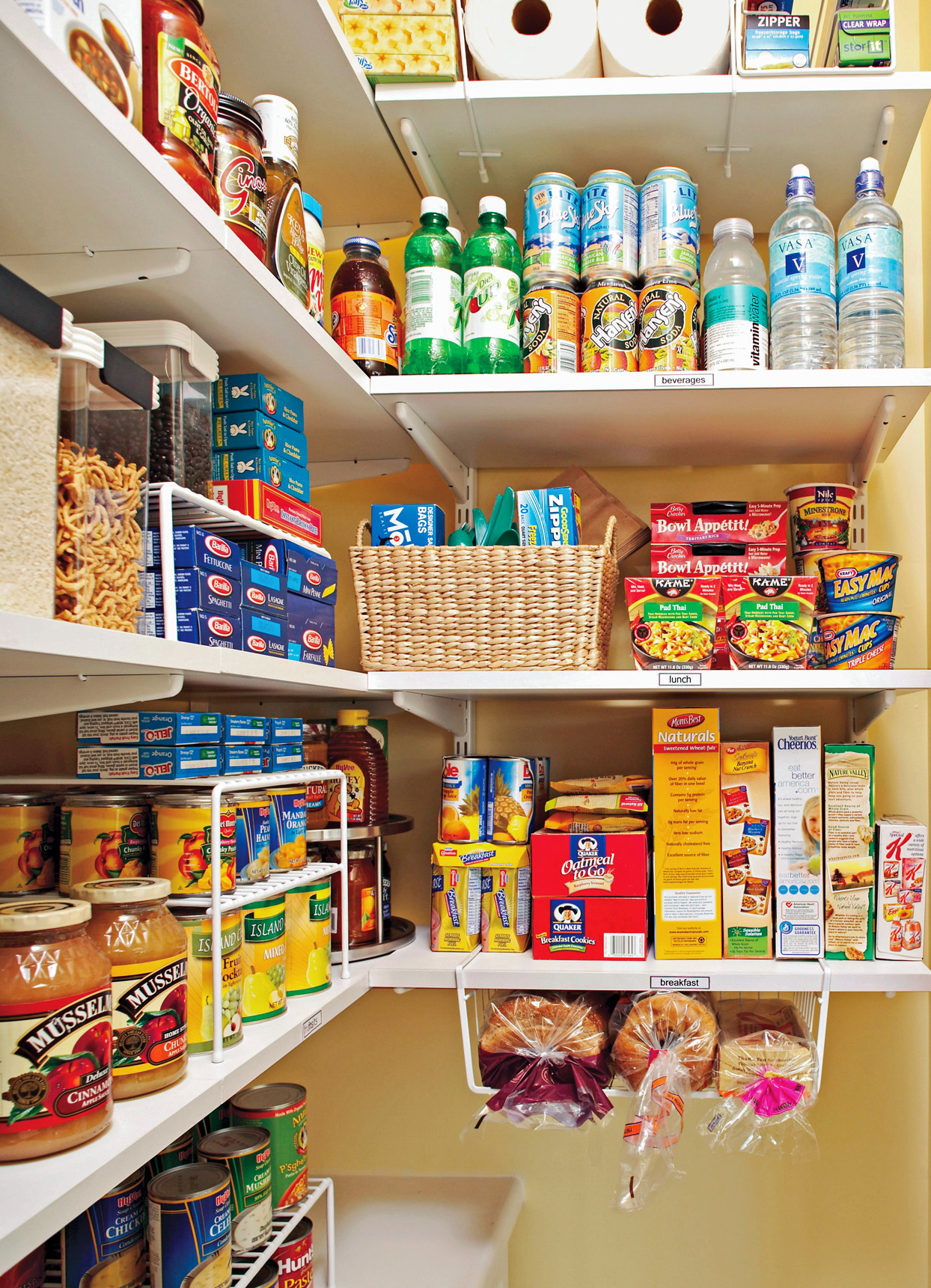Ideas And Opinions On How To Organize Your Pantry