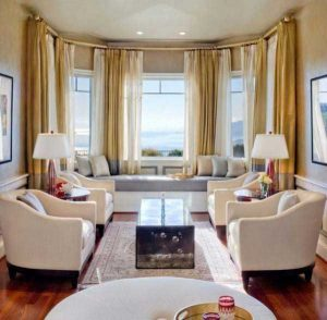 Bay Windows Curtain Idea Solutions is about finding the right curtain design for these windows which protrude outwards from the main wall of a building. They are unusual, and as a result, they can cause issues.
