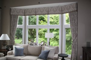 Bay Windows Curtain Idea Solutions can be achieved If you don't plan on opening and closing the curtain and just want to utilize it as a window treatment, you can use a single huge curtain for all windows