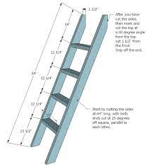 How to Construct a Loft Bed Ladder